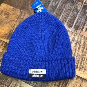 ADIDAS New Mini Fit Knit Beanie Blue